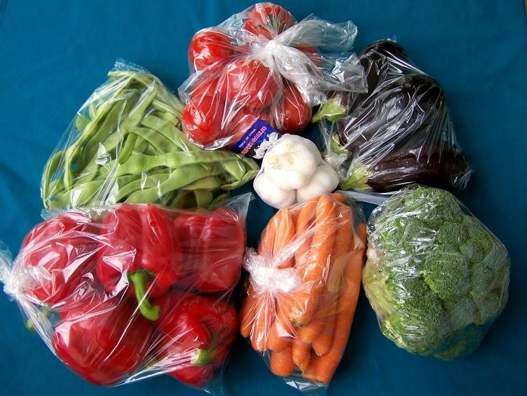 Groente van de markt, €7