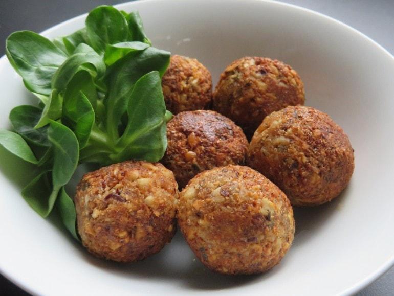 Notenballetjes, vegan, zonder ei
