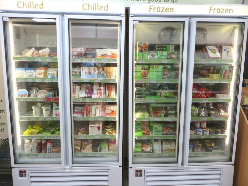 Holland & Barret vegan koeling