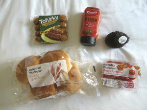 Tofurky worstjes en hotdog ingrediënten, vegan
