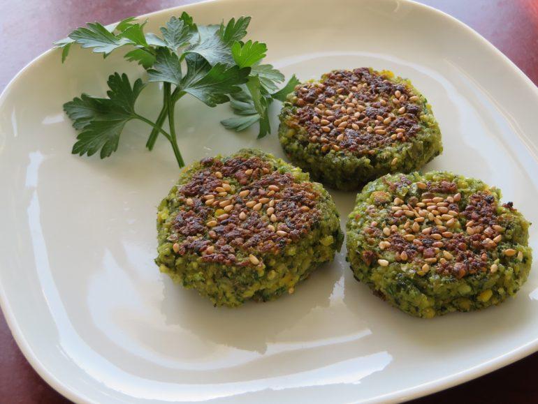 Zelfgemaakte falafel, vegan