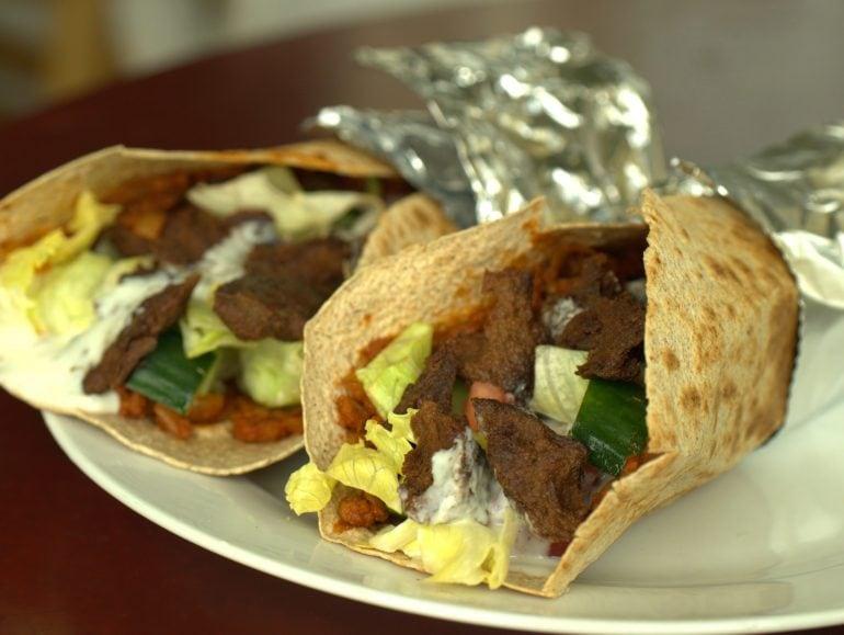 Snelle Turkse pizza, vegan