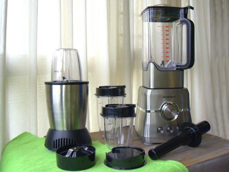 Lidl Silvercrest Power blender en Nutrition mixer