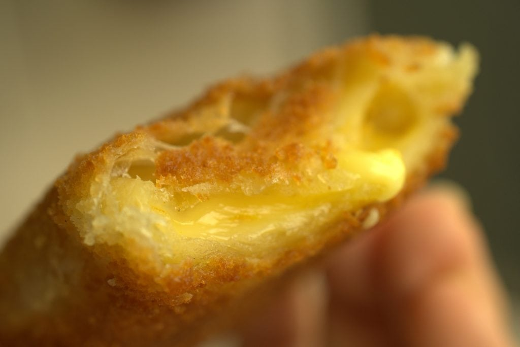 Vegan kaassoufflé