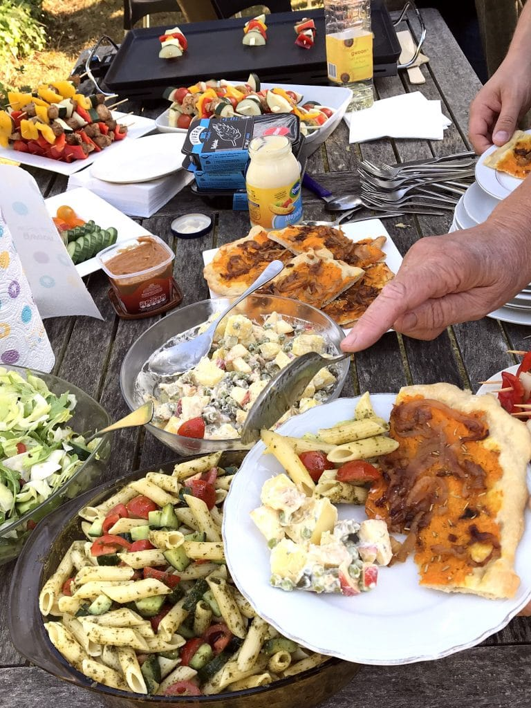 Vegan barbecue
