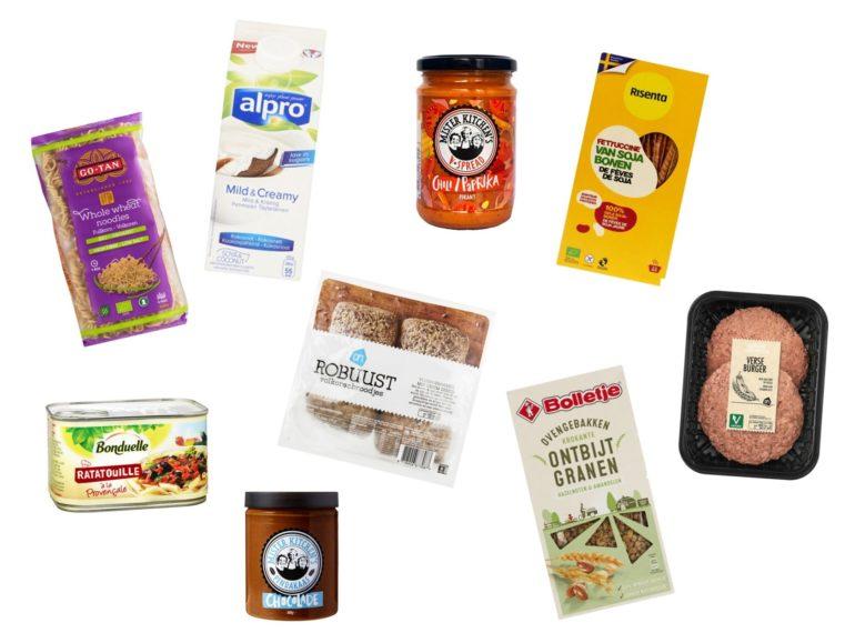 Gezonde producten, vegan