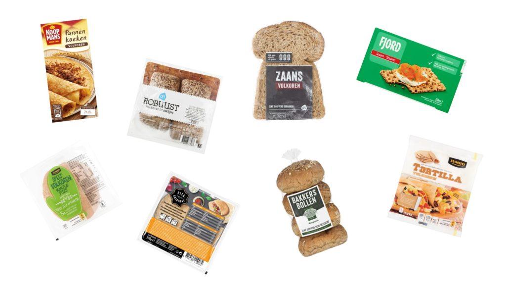 Gezonde producten brood vegan