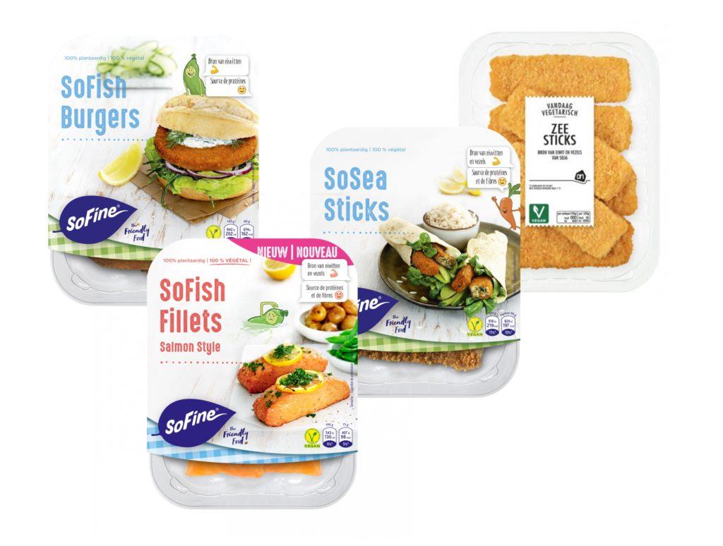 Vleesvervangers visvervangers vegan