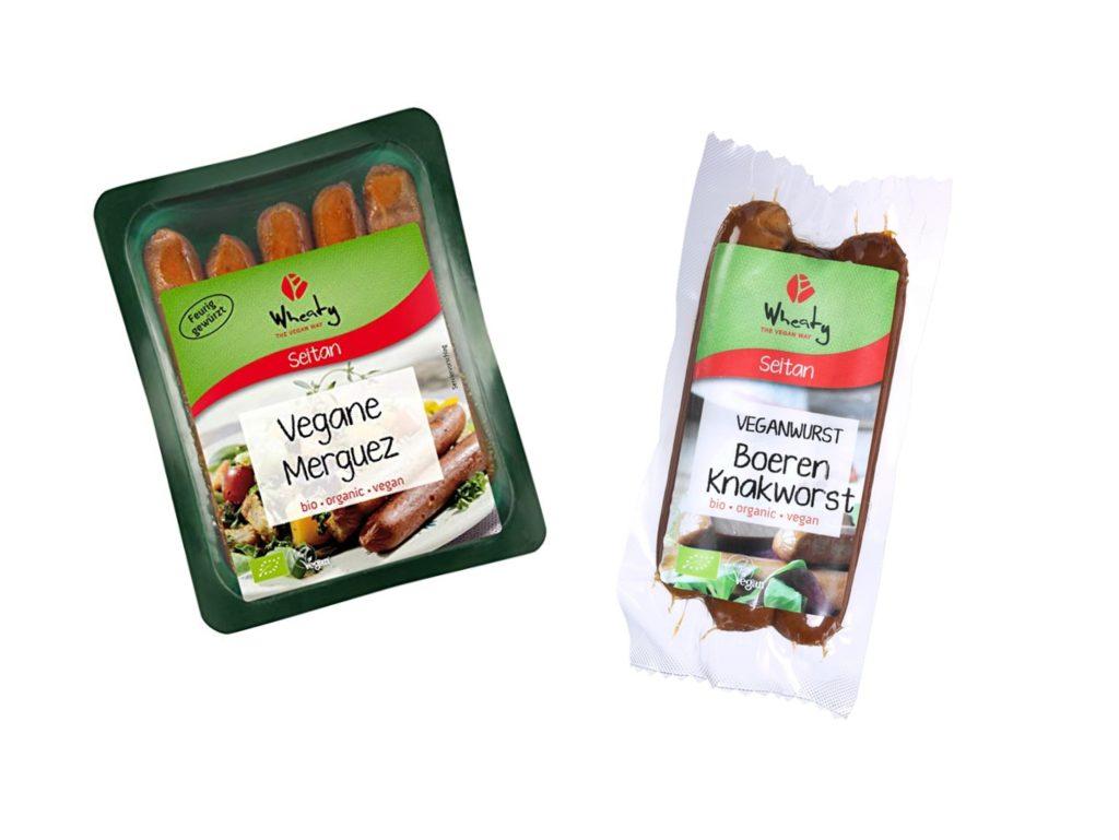 Vleesvervangers worst vegan