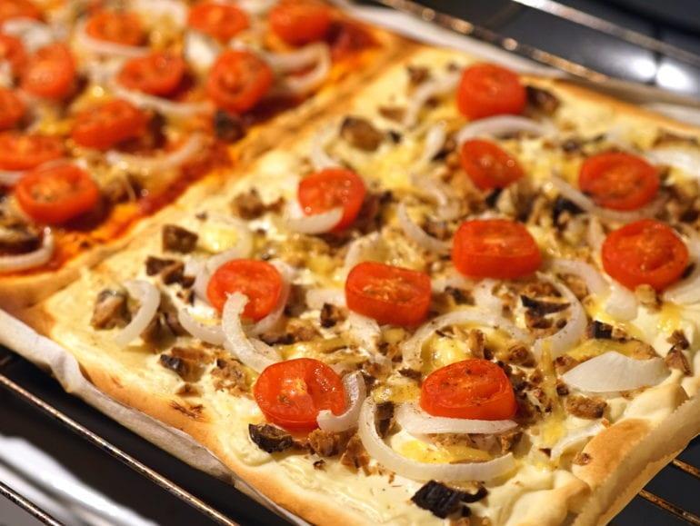 Vegan flammkuchen recept