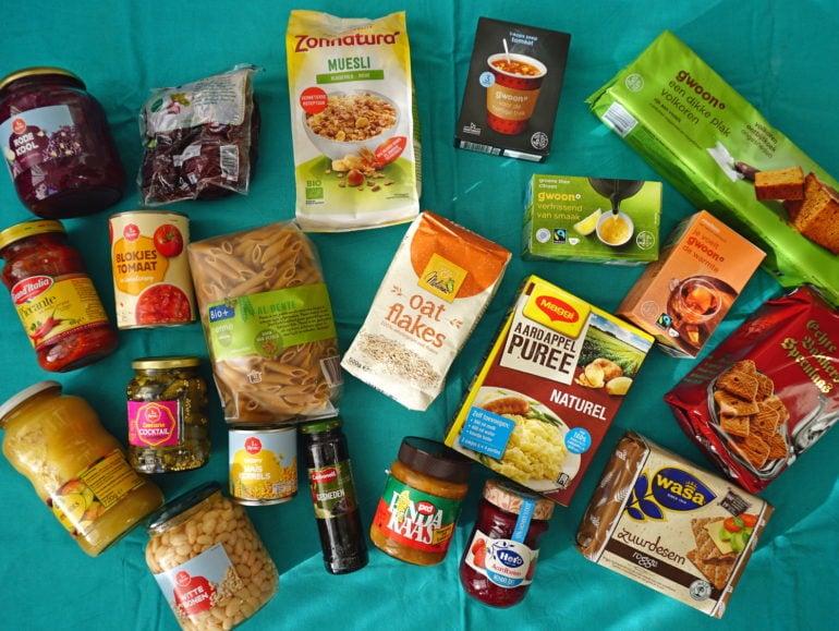 Noodvoorraad houdbare producten