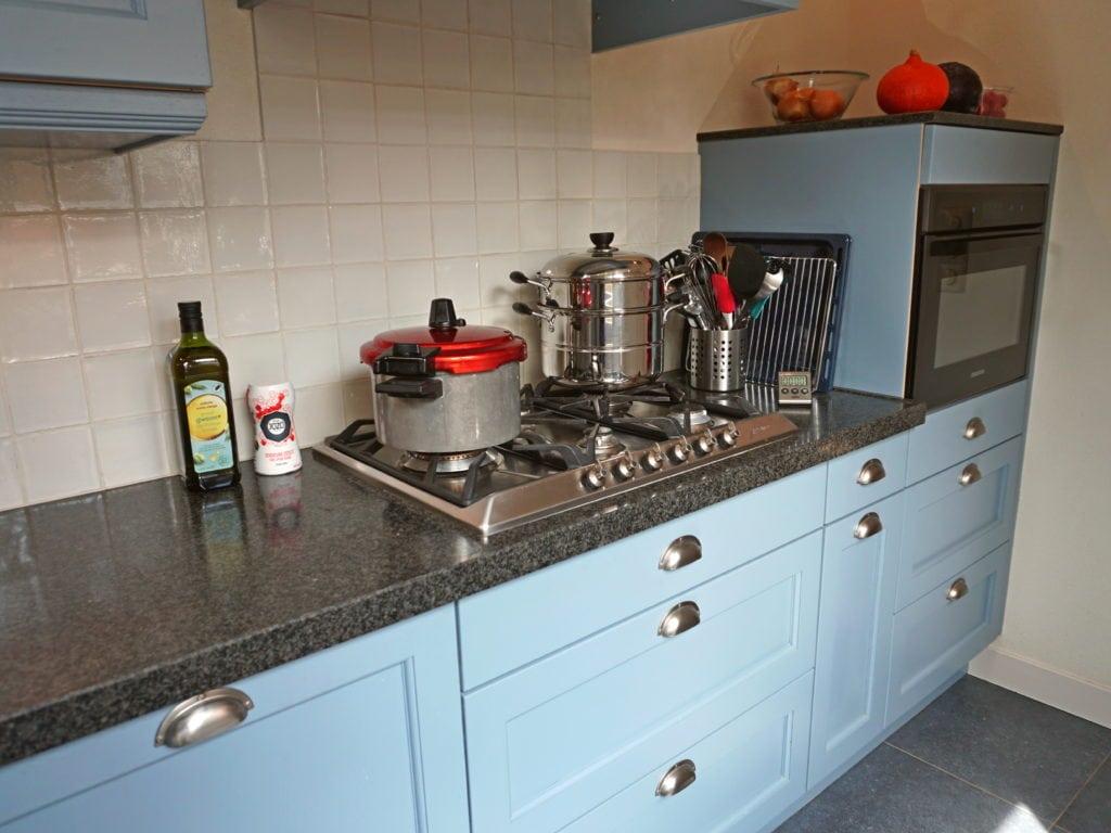 Nieuwe keuken snelkookpan stoompan