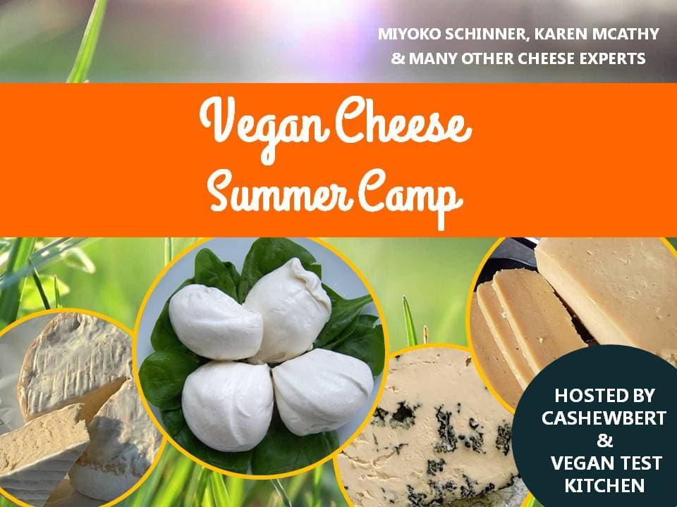 Vegan Cheese Summer camp