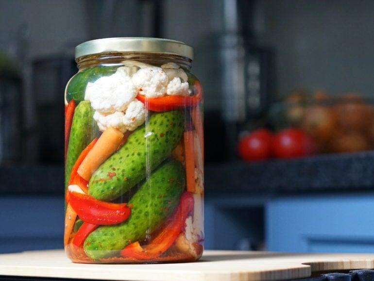 Turkse pickles tursu